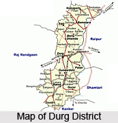 History of Durg District