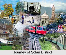 History of Solan District