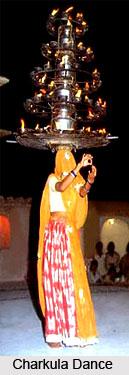 Charkula Dance, Uttar Pradesh