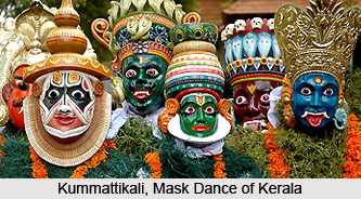Kummattikali, Folk Dance of Kerala
