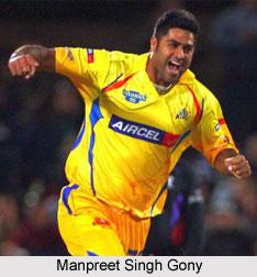 Manpreet Singh Gony, Punjab Cricket Player
