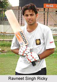 Ravneet Singh Ricky, Punjab Cricket Player