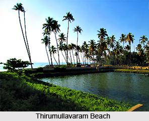 Thirumullavaram Beach, Kollam, Kerala