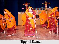 Tippani Dance, Gujarat