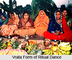 Vrata Dance, West Bengal