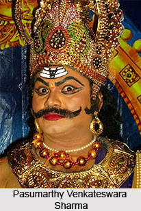 P  Venkateswara Sharma,  Indian Dancer