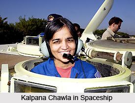 Kalpana Chawla in NASA, Indian astronaut