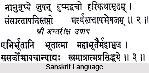 Origin of Indian Languages