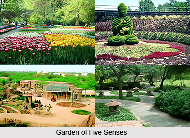 Garden of Five Senses, Delhi