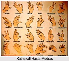 Hasta Mudras In Kathakali