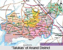 History of Anand District
