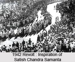 Satish Chandra Samanta, Indian Freedom Fighter