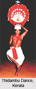 Thidambu Dance , Malabar region , Kerala
