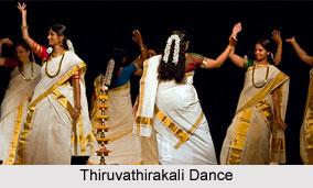 Tiruvathira Dance, Kerala