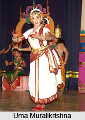 Performance of the Kuchipudi Dancers