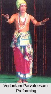 Vedantam Parvateesam, Indian Dancer