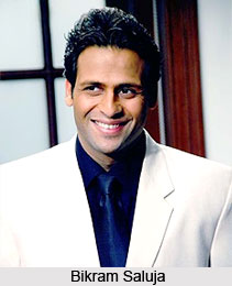 Bikram Saluja, Bollywood Actor