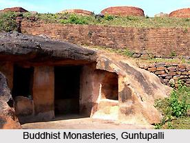 Guntupalli, Indian Buddhist Site, Andhra Pradesh