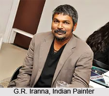 G.R. Iranna, Indian Painter