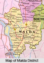 Geography of Malda District, West Bengal