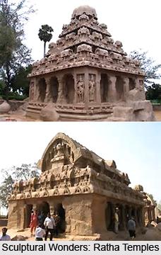 Sculptures of Mahabalipuram Temples