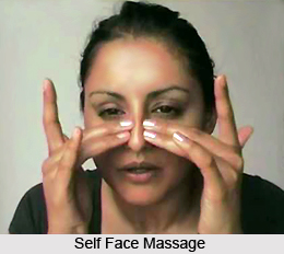 Self Face and Scalp Massage, Aromatherapy