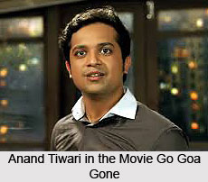 Anand Tiwari, Indian Movie Actor