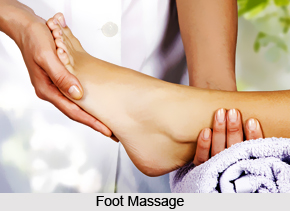 Feet & Leg Massage, Aromatherapy