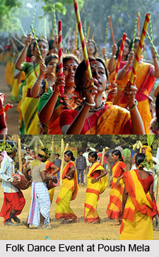 Poush Mela at Santiniketan, West Bengal