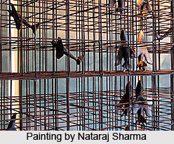 Nataraj Sharma, Indian Painter
