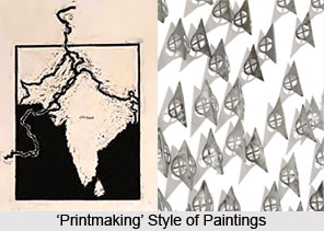 Zareena Hashmi, Indian Painter