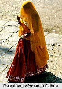 Odhna, Costume for Rajasthani Women