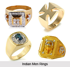 Mens Platinum Diamond Pinky Rings