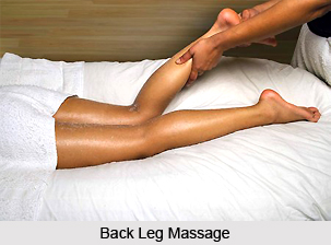 Back Leg Massage, Aromatherapy