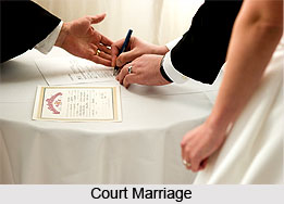 Court Marriages, Indian Wedding