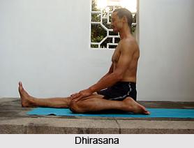 Dhirasana