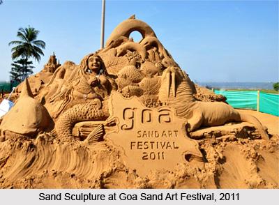 Goa Sand Art Festival