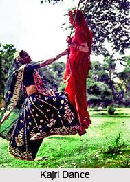 Kajri Dance, Folk Dance of Uttar Pradesh