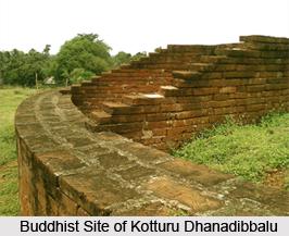 Kotturu Dhanadibbalu, Archaeological site in Andhra Pradesh