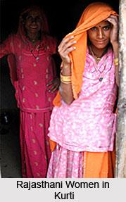 Kurti, Costume for Rajasthani Women