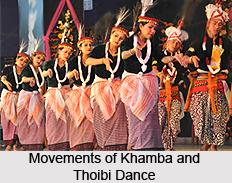 Khamba and Thoibi, Folk Dance of Manipur