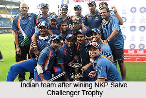 NKP Salve Challenger Trophy, Indian Cricket