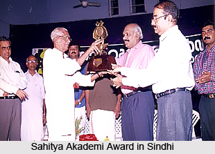 Sahitya Akademi Award in Sindhi