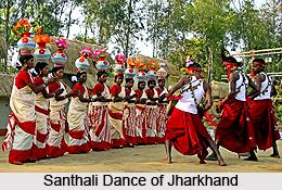 Santhali Dance, Jharkhand