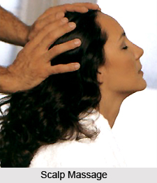 Scalp Massage, Aromatherapy
