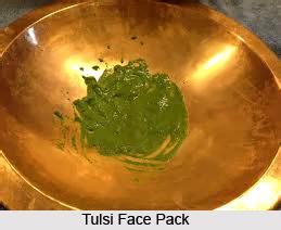 Tulsi in Beauty Treatment