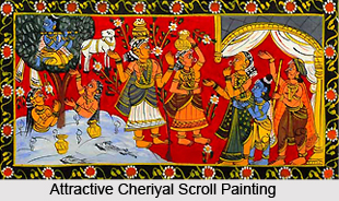 Cheriyal Scroll Painting