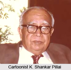 K. Shankar Pillai, Indian Cartoonist