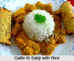 Gatte Ki Sabji