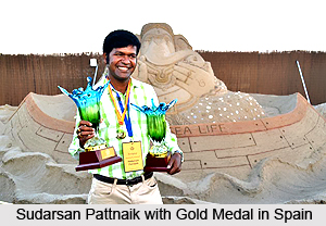 Sudarsan Pattnaik, Indian Sand Sculptor